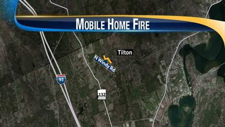 Tilton fire map