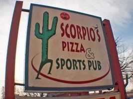 Tie-14) Scorpio's Pizzaria in Lancaster