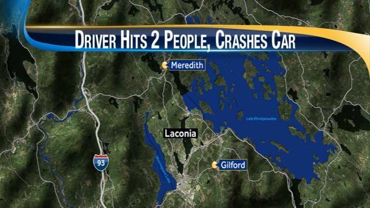 map-Laconia dui, crash