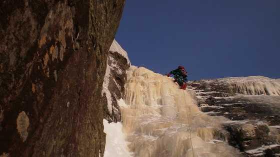 Ice climbing