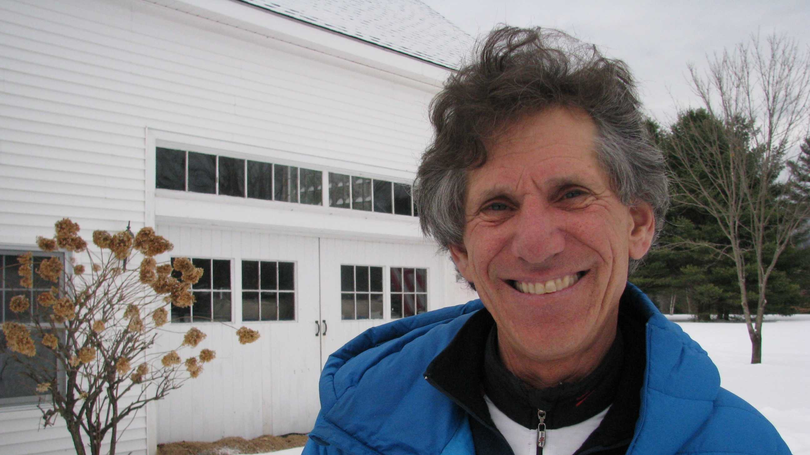 Nick Preston, the father of Freestyle skiing, at his Mountain Fare Inn in Campton where he houses and trains athletes.