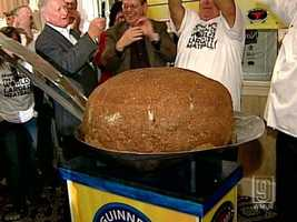 Nonni's Italian Eatery in Concord holds the record for the world's largest meatball. The meatball weighed 222 pounds and 8 ounces.