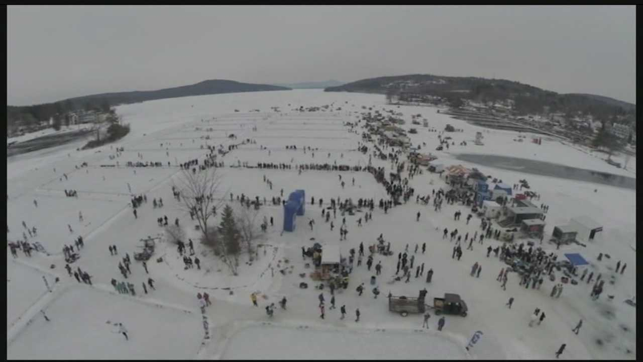 Meredith Pond Hockey Event