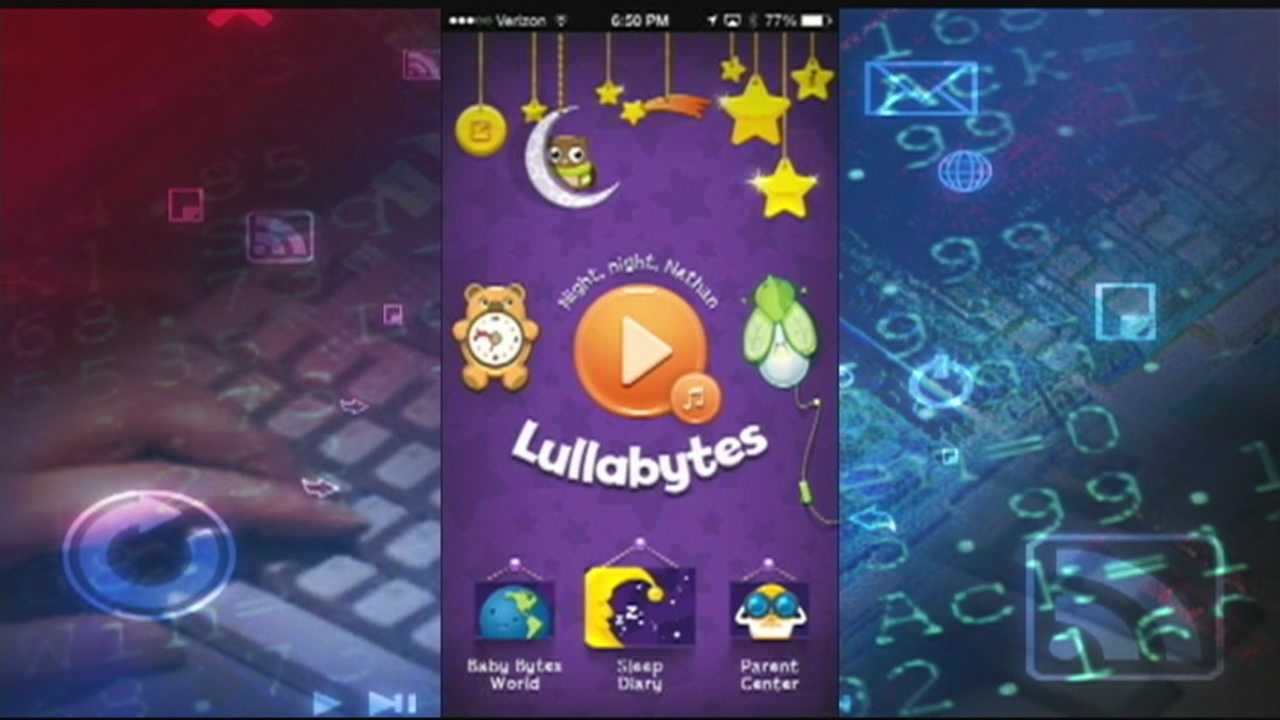 Lullabytes, a mobile app, offers a collection of twelve classic lullabies, which were specifically selected with children in mind.