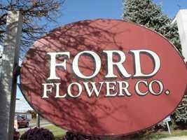 10 tie) Ford Flower Co. in Salem