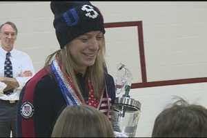 Hannah Kearney, of Hanover, will be competing in the Freestyle Skiing competition.Learn more about Hannah:http://www.wmur.com/news/sports/hannah-kearney-hanover-freestyle-skiing/-/9857950/24154424/-/9iwcmm/-/index.html.