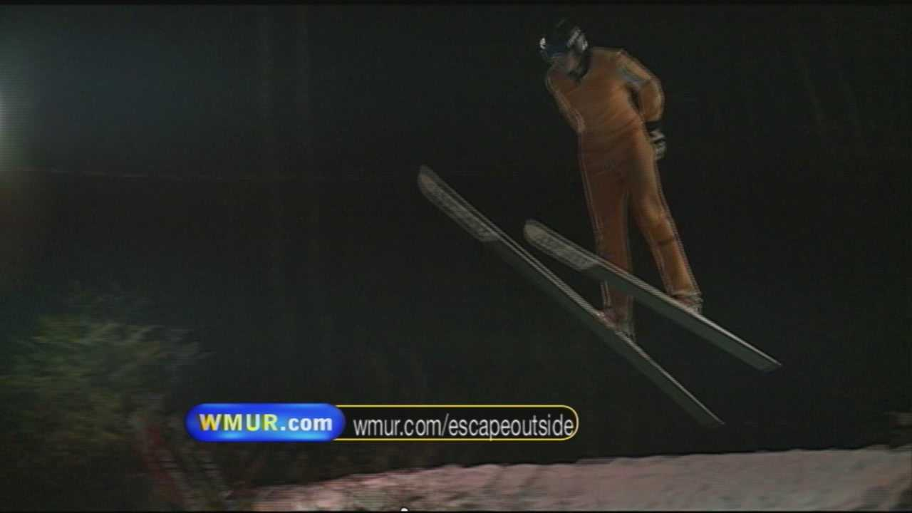 Uniquely NH: School ski jumping