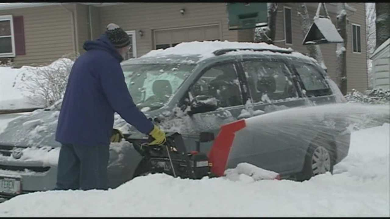 Granite State digs out from heavy snow