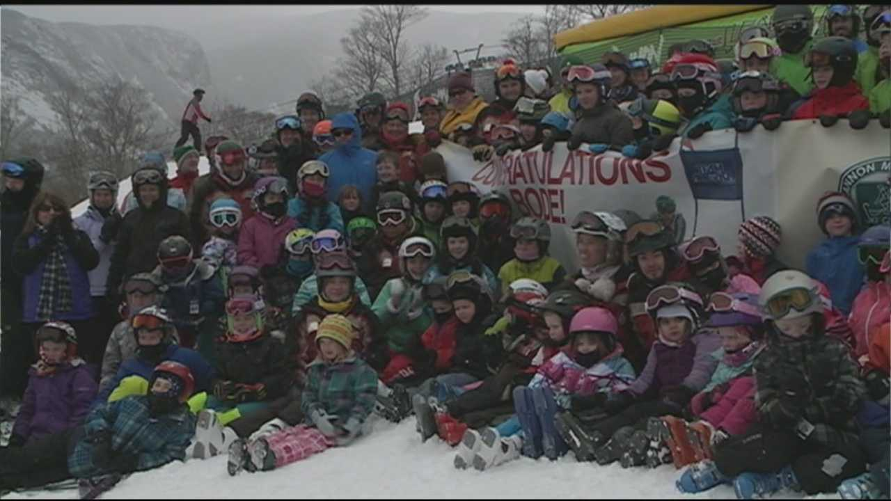 Cannon Mountain celebrates Bode Miller's bronze