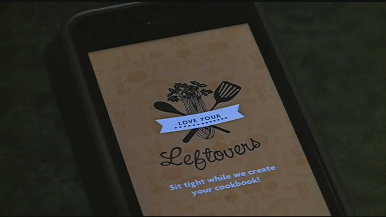 Love Your Leftovers is an app that was inspired by an Australian cookbook, and the goal is to save your money and the Earth.