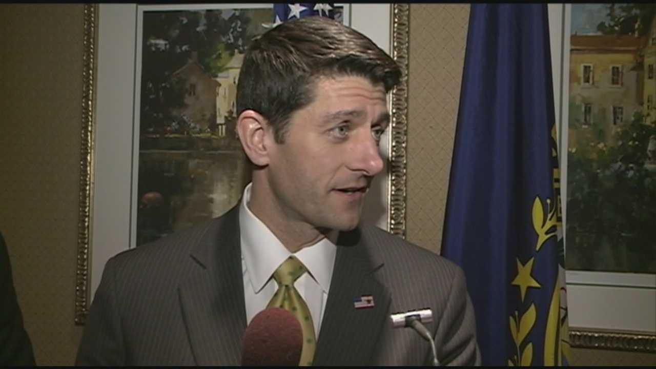 Rep. Paul Ryan visits Manchester