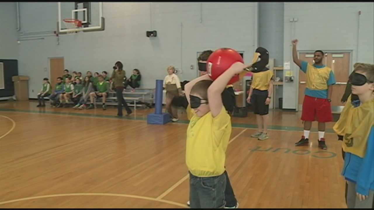 Beep kickball teaches lesson at Boys and Girls Club
