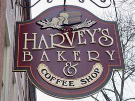 7 tie) Harvey's Bakery & Coffee Shop in Dover