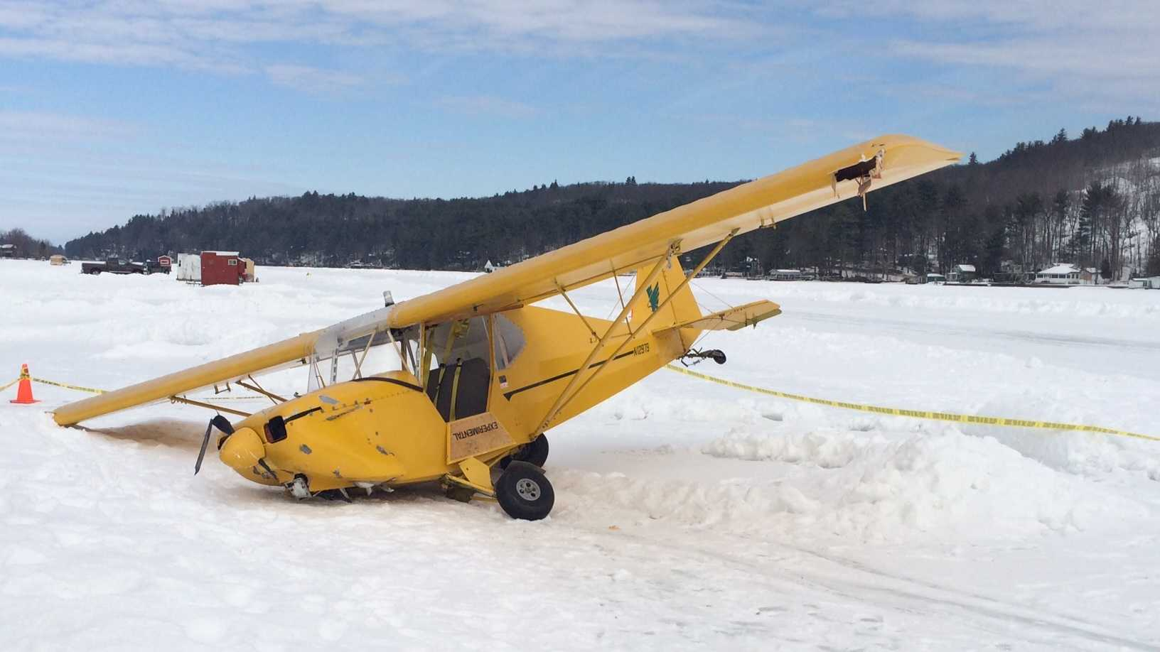 A single-engine experimental plane crashed while coming in for a landing on an ice runway in Alton Bay on Saturday morning. For our full story, click here.