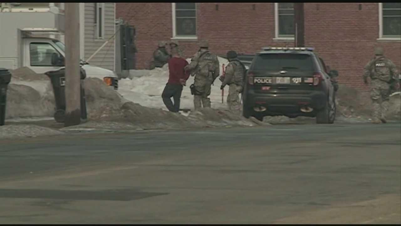 Man taken into custody after Hudson standoff