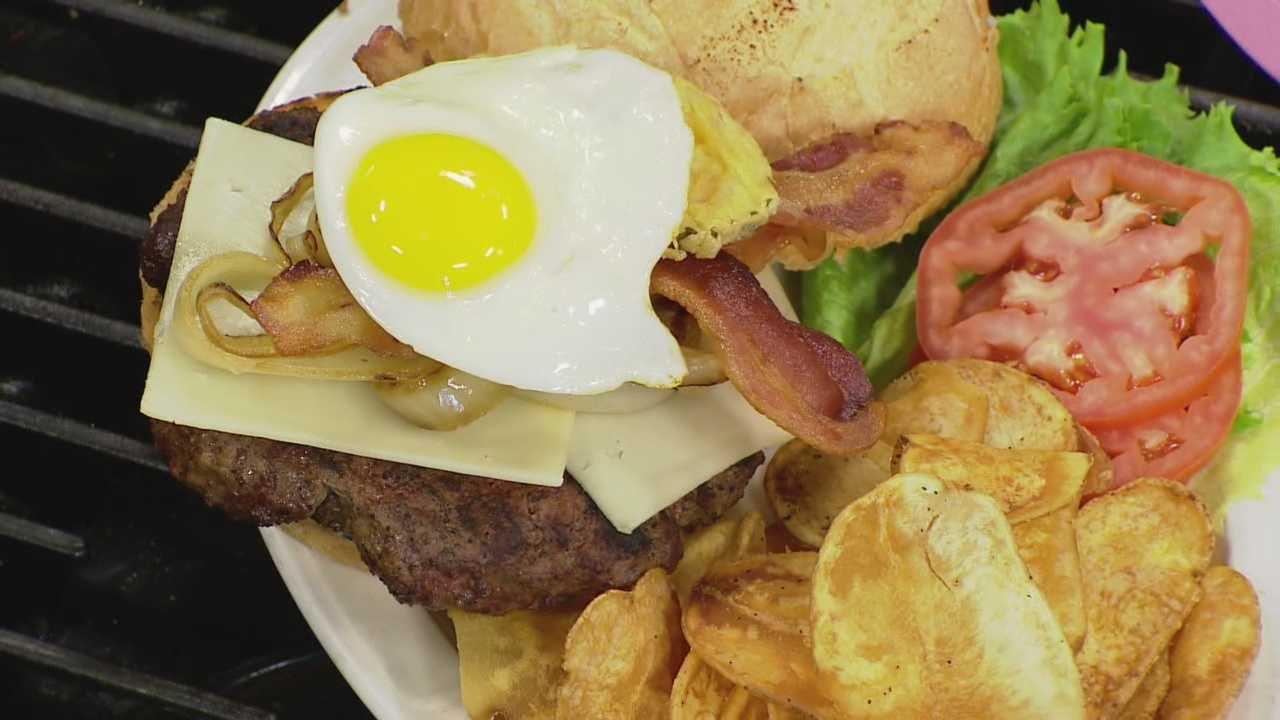 The Belly Buster Burger