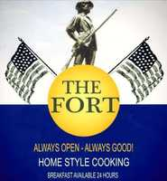 9 tie) The Fort in Lebanon
