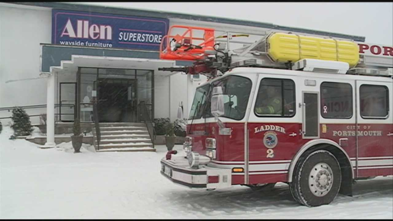 Gas leak forces evaluations on Route 1 in Portsmouth