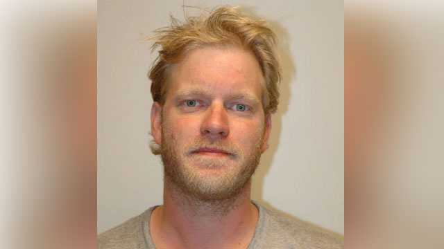 Jeremy Slater, 35, wanted in connection with alleged drug sales at 23 Temple Street in Nashua.
