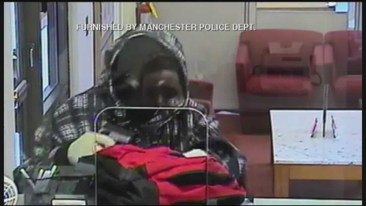 Police investigating armed robbery at Manchester bank