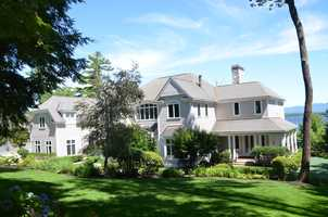 520 Edgewater Drive in Gilford is listed for sale at $10.5 million.