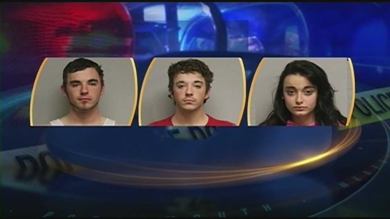 Three arrested in burglary investigation