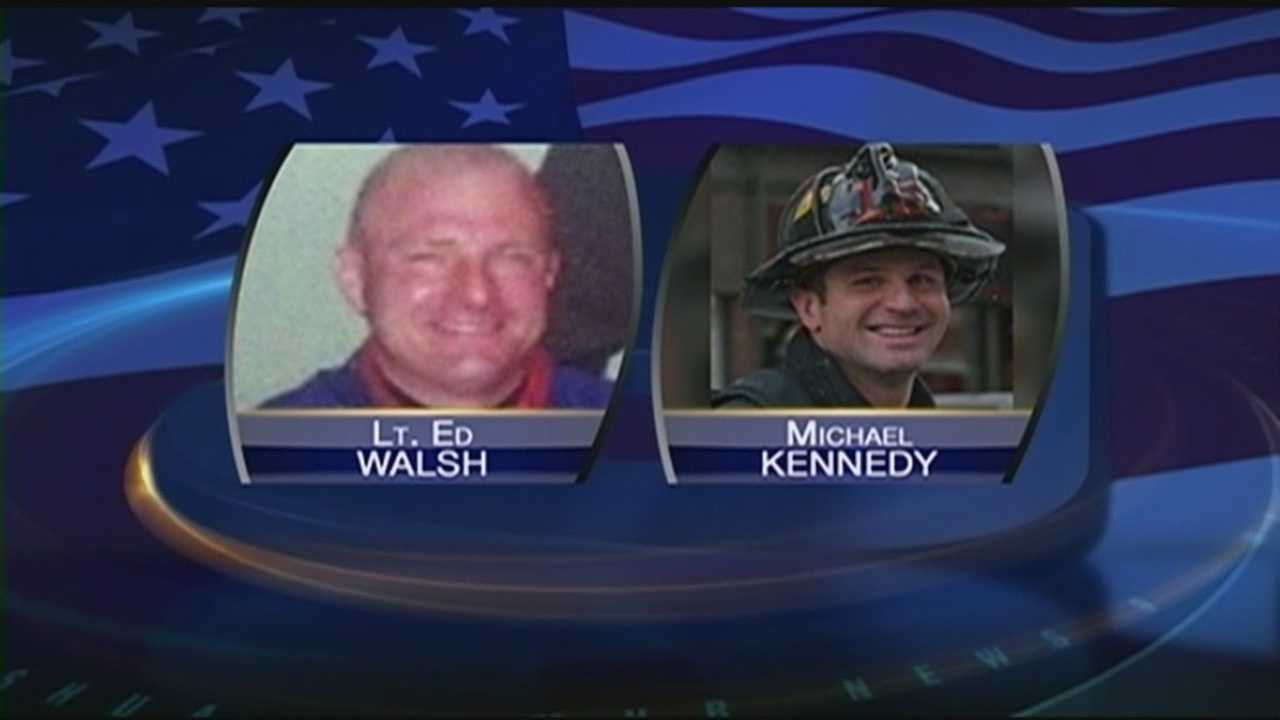 Firefighters killed in Boston blaze remembered