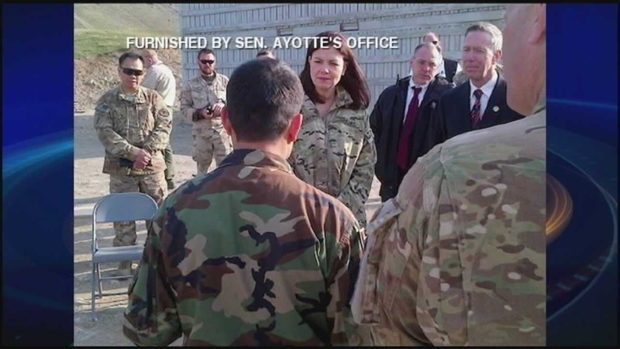 Back from overseas trip, Ayotte comments on Ukraine, Russia