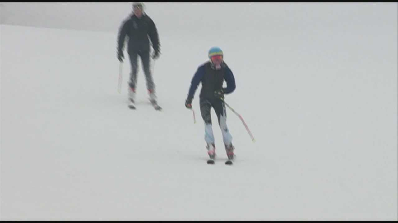 Ski slopes still busy in late March