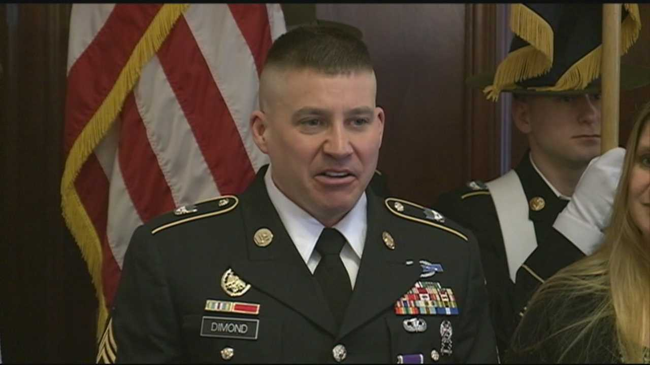 Manchester man earns Purple Heart