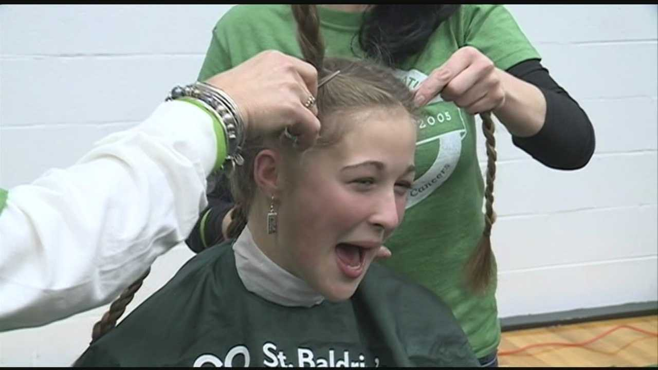 St. Baldrick's Foundation shaves heads for research