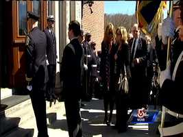 The family of fallen Boston firefighter Michael Kennedy.