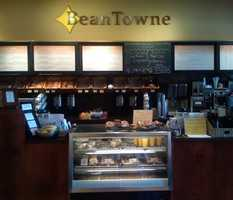 2) BeanTowne Coffee House in Hampstead