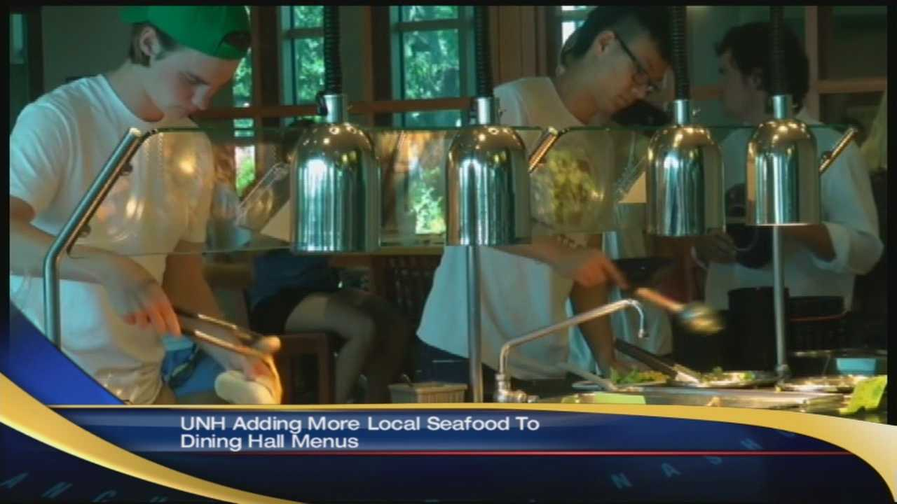 UNH to serve locally grown seafood