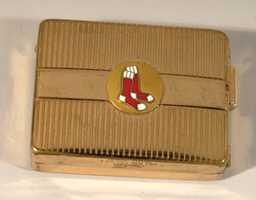 Johnny Pesky's c.1950s Boston Red Sox lighter.