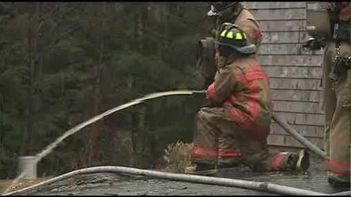 Auburn Chimney Fire