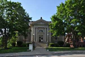 Franklin Public Library in Franklin, N.H.