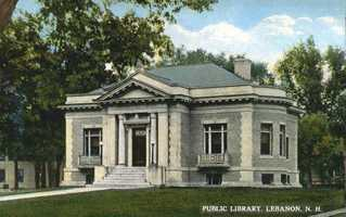 Lebanon Public Library in Lebanon, N.H.