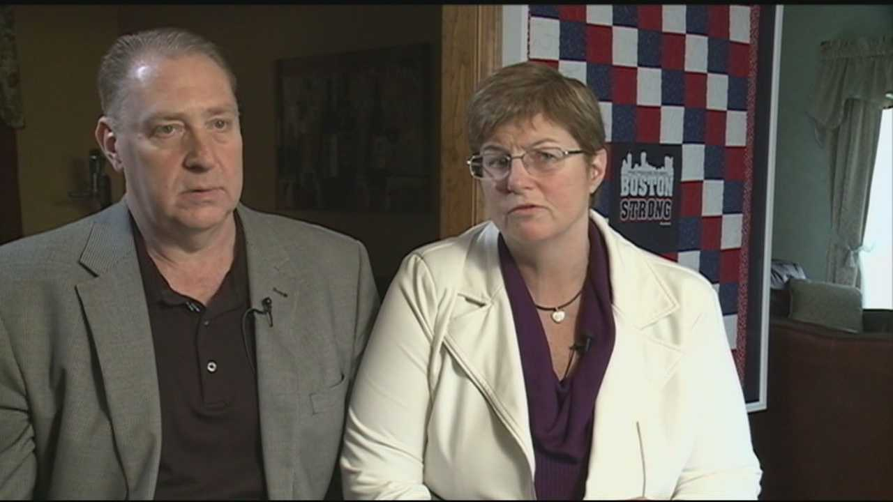 NH family hurt in bombings reflects one year later