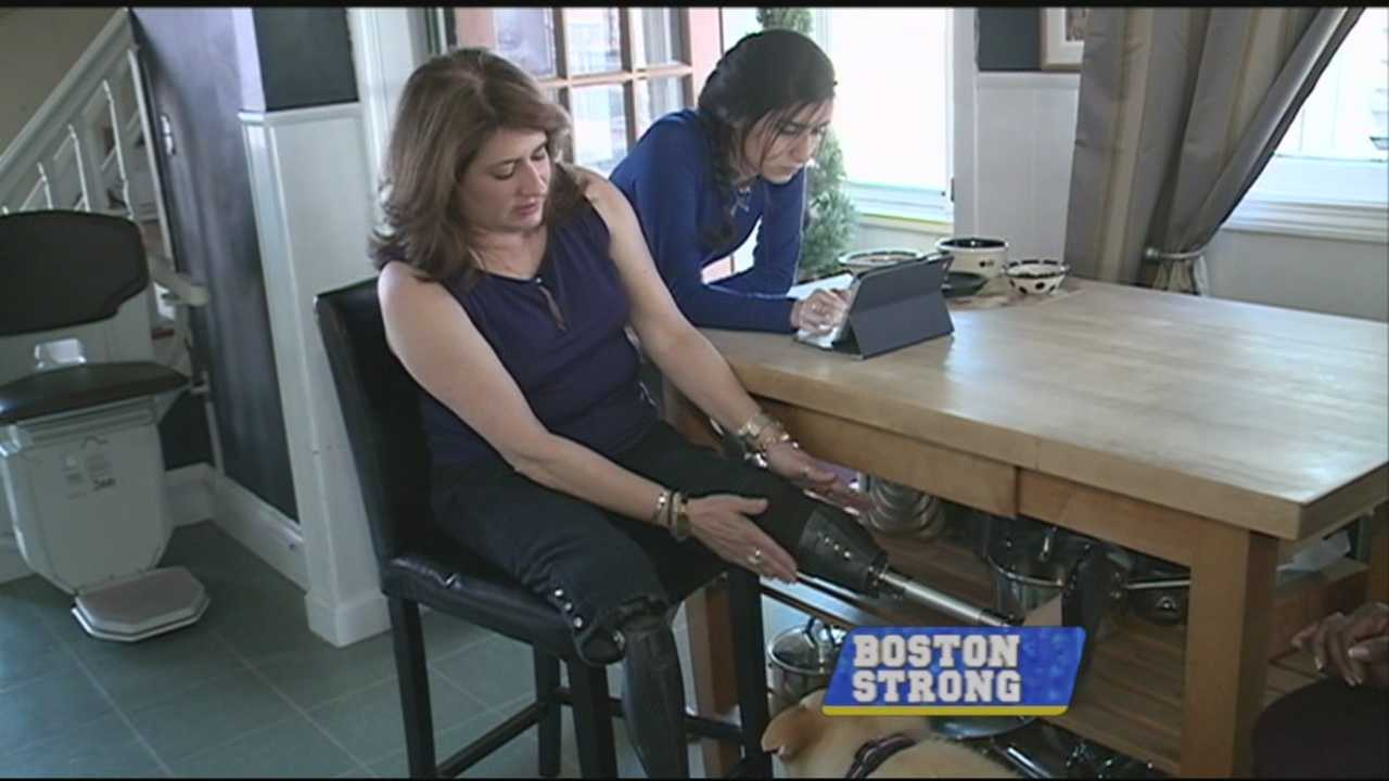 Bombing survivor Celeste Corcoran describes trying year
