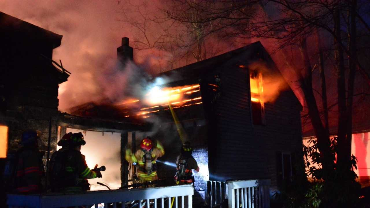 Barrington fire pic