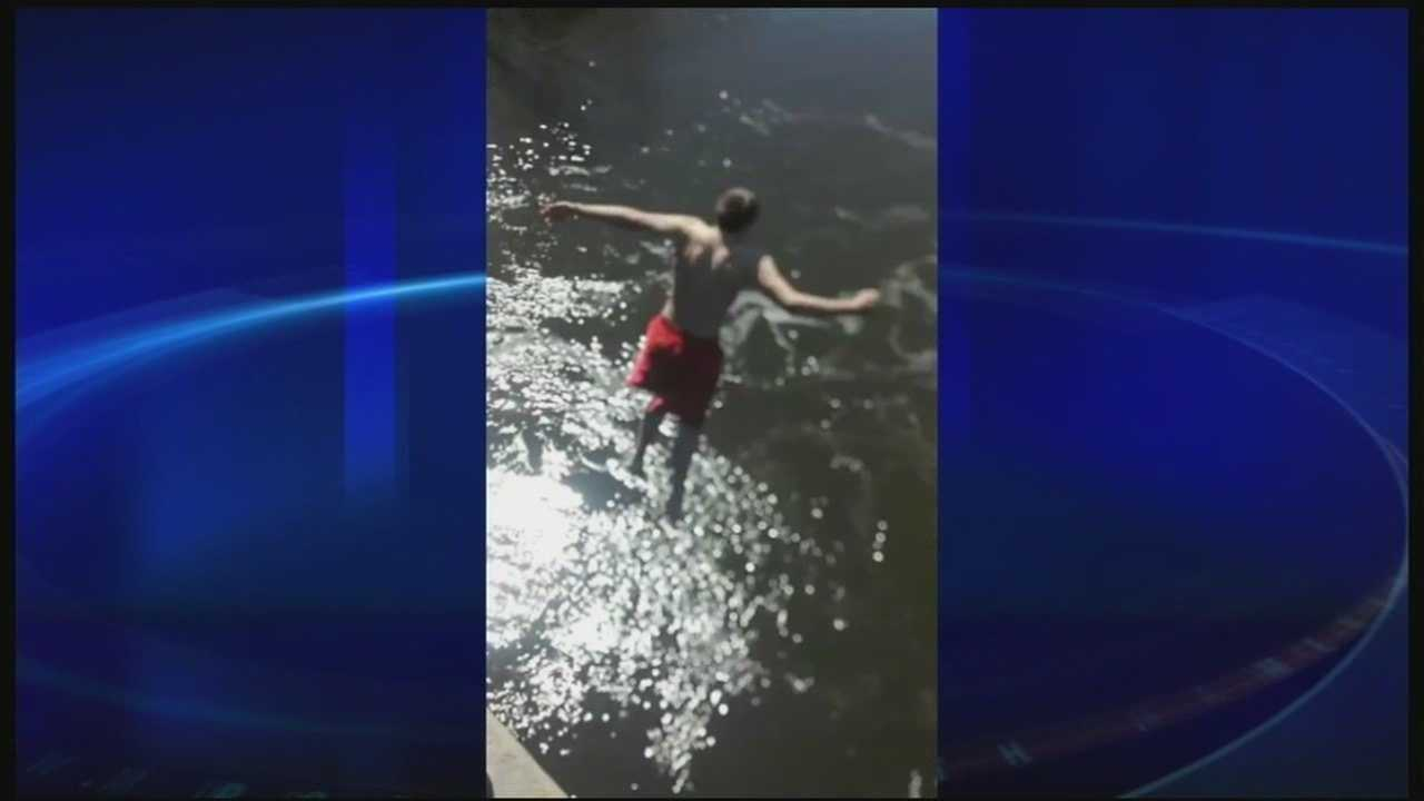 Fish and Game officials warn against polar plunge dare