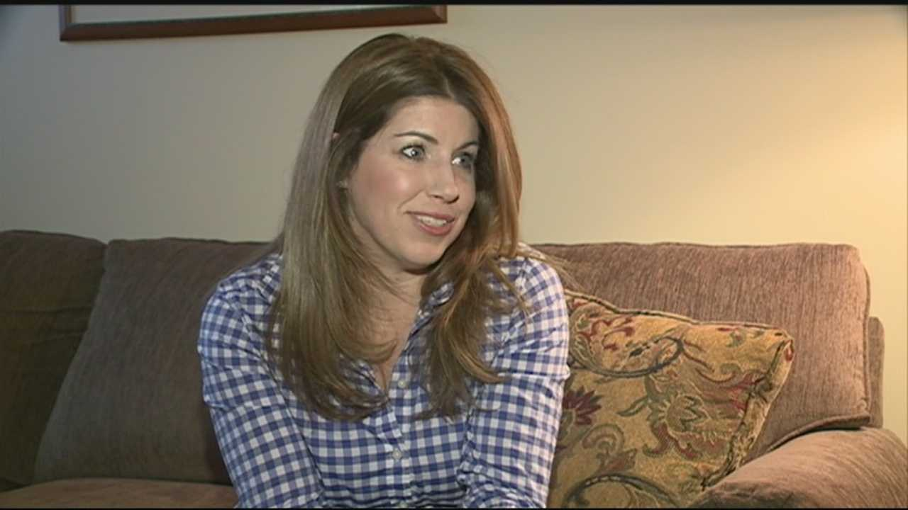 A woman from Nashua said she's ready to complete the Boston Marathon she began in 2013.