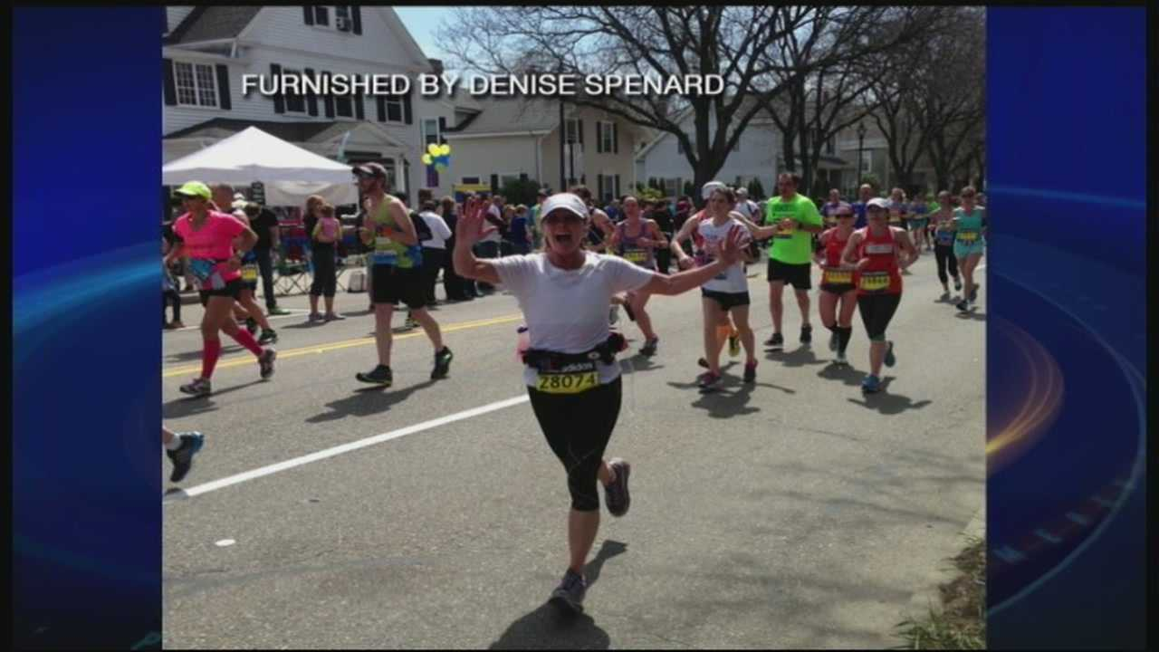 NH woman talks about running Boston Marathon