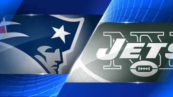 Week 16 - New England Patriots at New York Jets - Dec. 21, 1 p.m. CBS