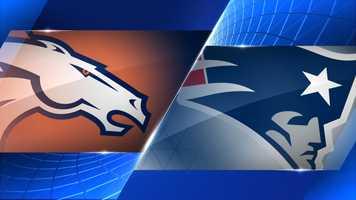 Week 9 - Denver Broncos at New England Patriots - Nov. 2, 4:25 p.m. CBS