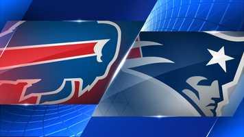 Week 17 - Buffalo Bills at New England Patriots - Dec. 28, 1 p.m. CBS