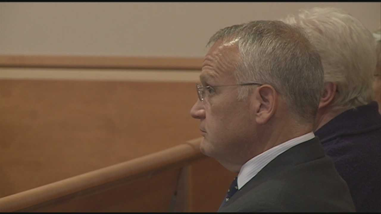 Arsenault pleads guilty to theft, is sentenced to prison