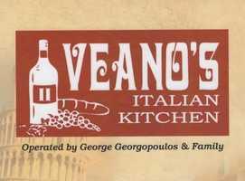 7 tie. Veano's Italian Kitchen in Concord