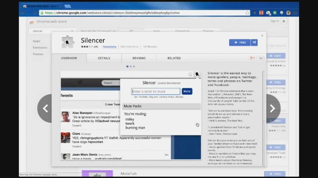 Tech Talk: 'Silencer' helps users avoid spoilers